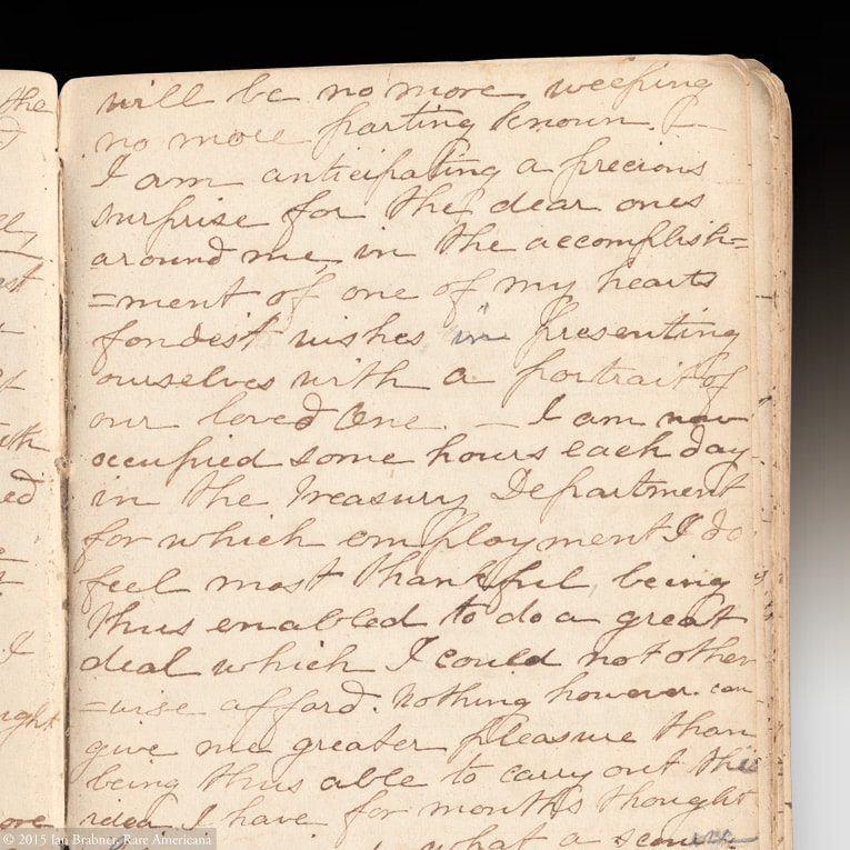 A Handwritten Diary from Antebellum, Civil War and Reconstruction Era South Carolina