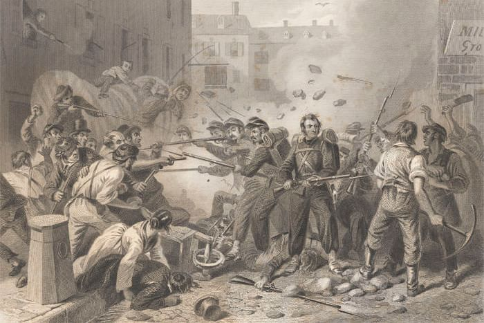 First Blood: 1861 Baltimore Riots
