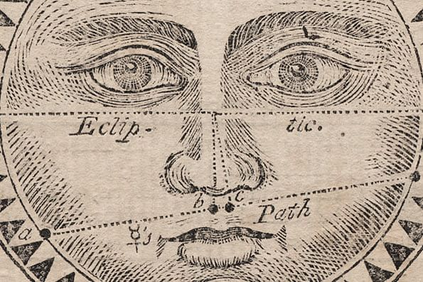 An 18th Century Almanac Eclipse for the Year 1789