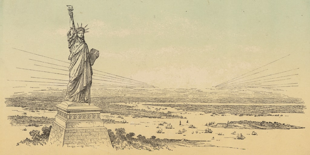 Building the Statue of Liberty: Liberty Enlightens the World