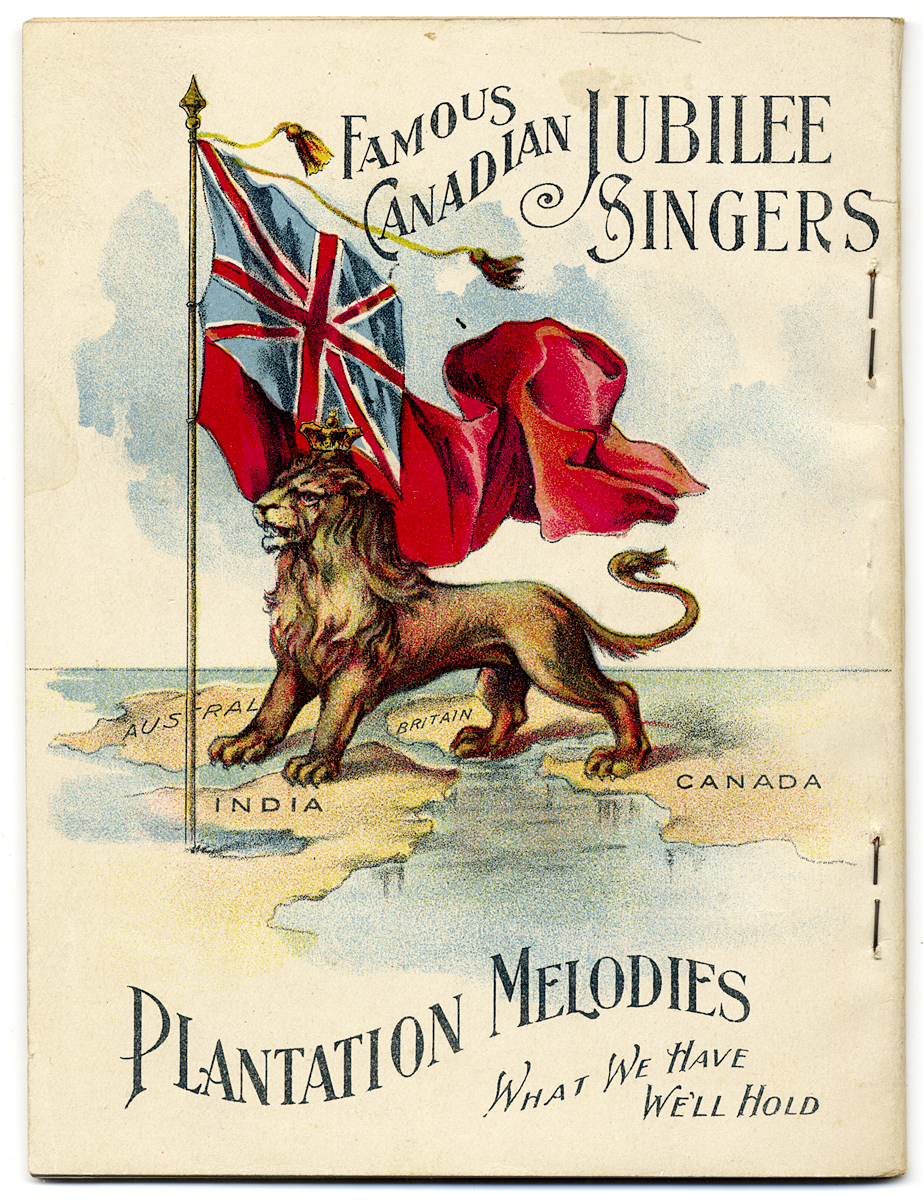 Songs Sung by the Famous Canadian Jubilee Singers, the Royal