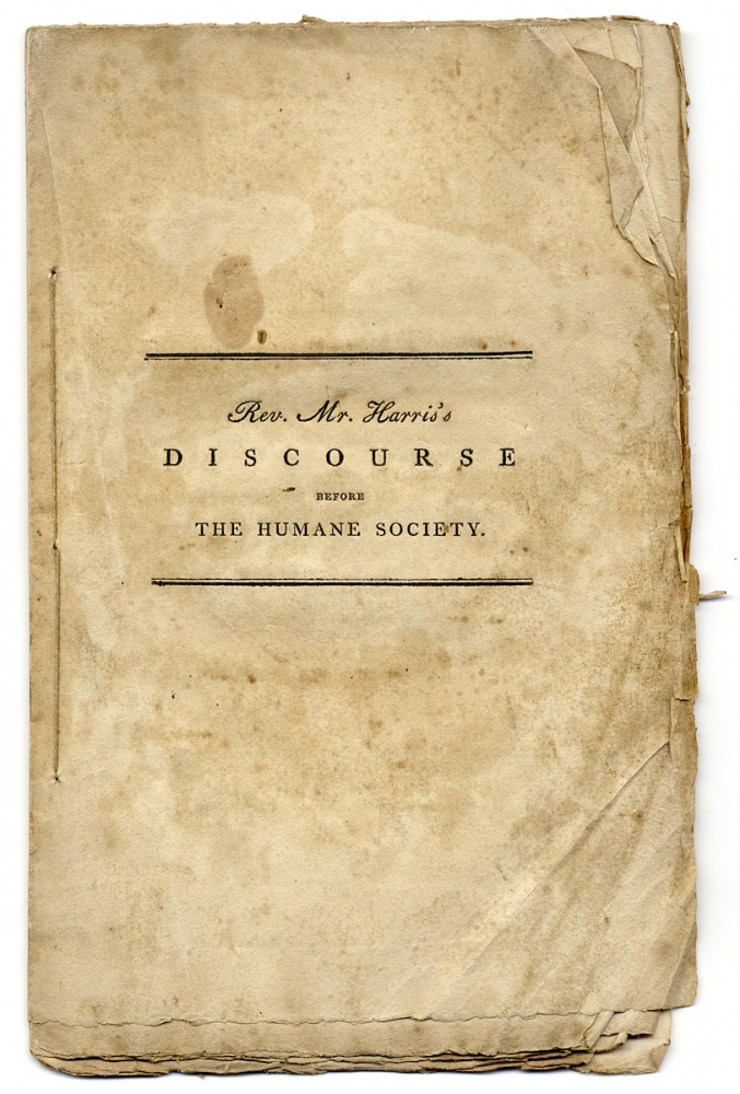 The Life Boat. A Poem. [within:] A Discourse Delivered before the Humane Society of the Commonwealth of Massachusetts, June 10,1806. Thaddeus Mason Harris.