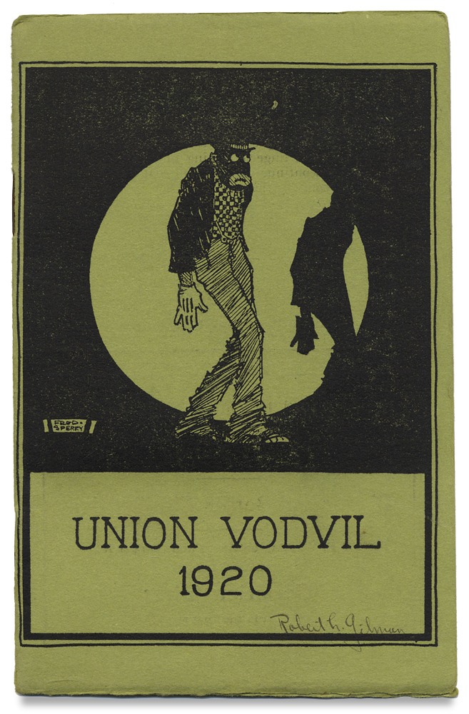 Union Vodvil 1920. [Vaudeville]. The Union Board, of The Union Memorial Building.
