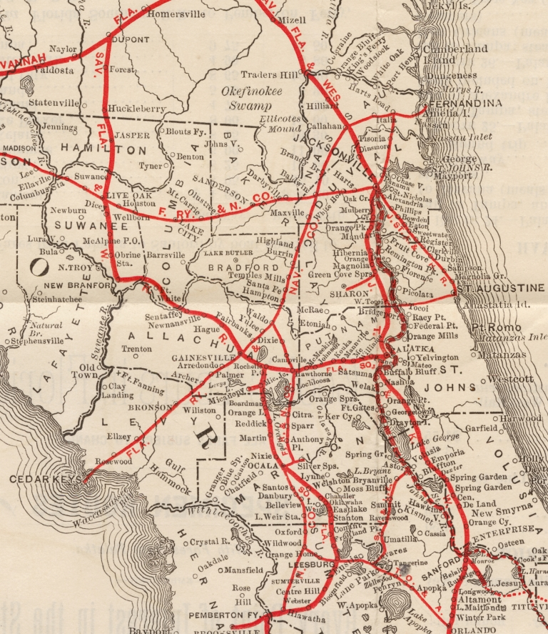 Cook's Tours in Florida. [With Map]. Thos. Cook, Tourist Son, Excursion Agents.