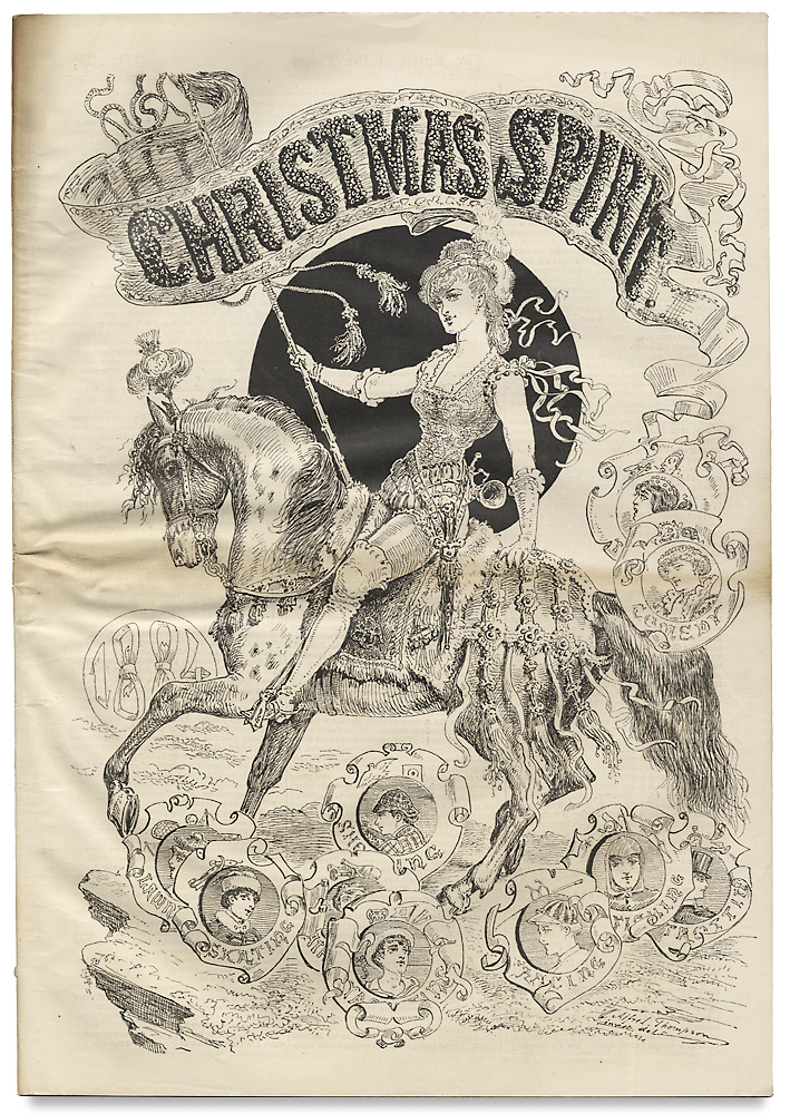 """[Wilkie Collins:] """"The Girl at the Gate (Written for the Christmas Spirit)"""" [published within:] The Spirit of the Times. Wilkie Collins, 1824–1889."""