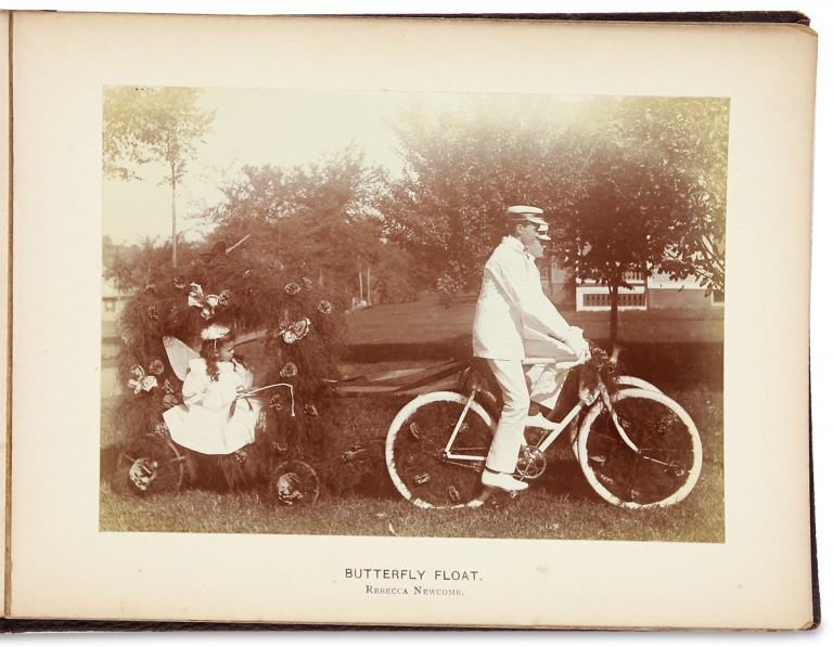 "[Massachusetts Photography:] Souvenir of the Coaching Parade, Greenfield 1897. Dunklee, ""Official Photographers"" Freeman."