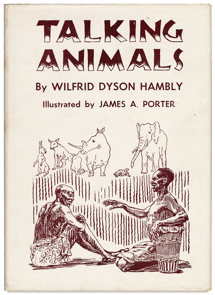Talking Animals. Wilfrid Dyson Hambly, James A. Porter.