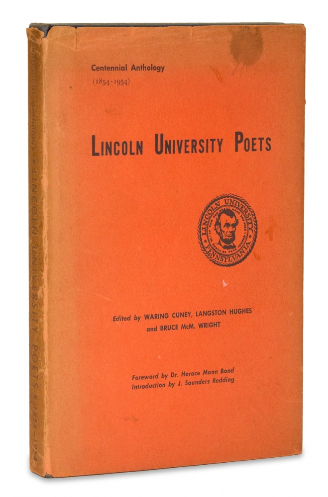 Lincoln University Poets. Langston Hughes.