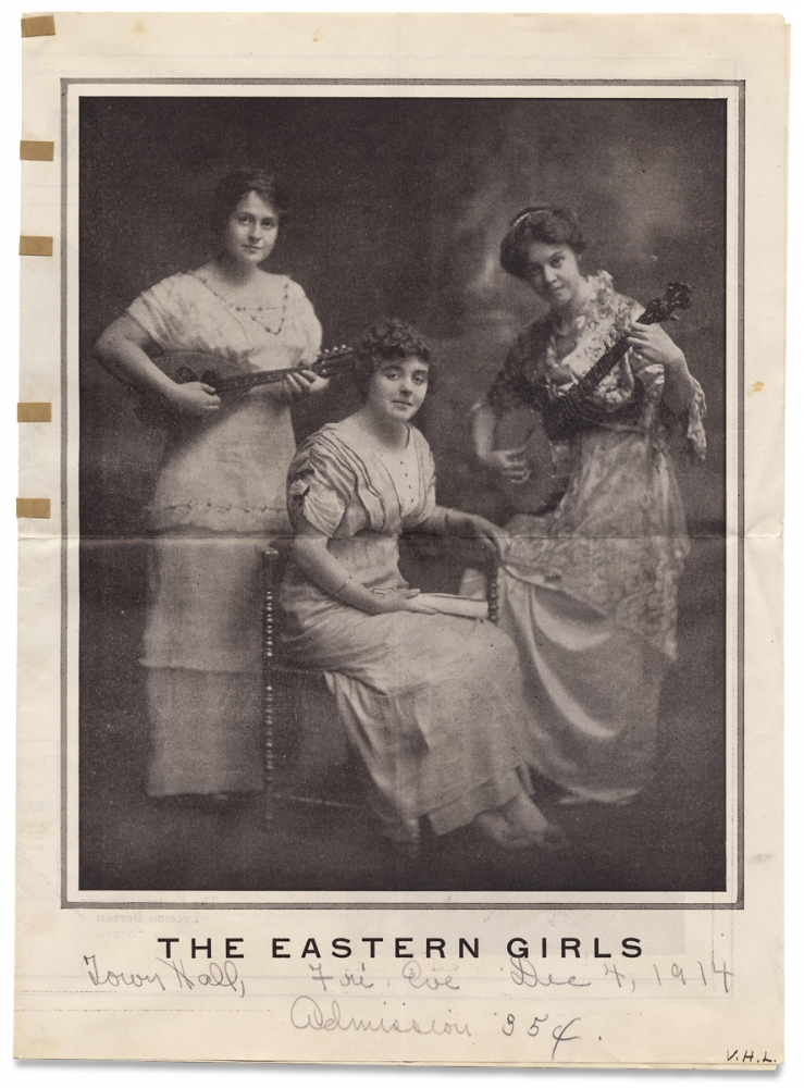 The Eastern Girls [cover title]. The Eastern-Empire Lyceum Bureau.