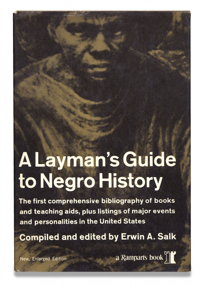 A Layman's Guide to Negro History. [from the library of Black civil right activist Pauli Murray]. compiler and Erwin A. Salk.