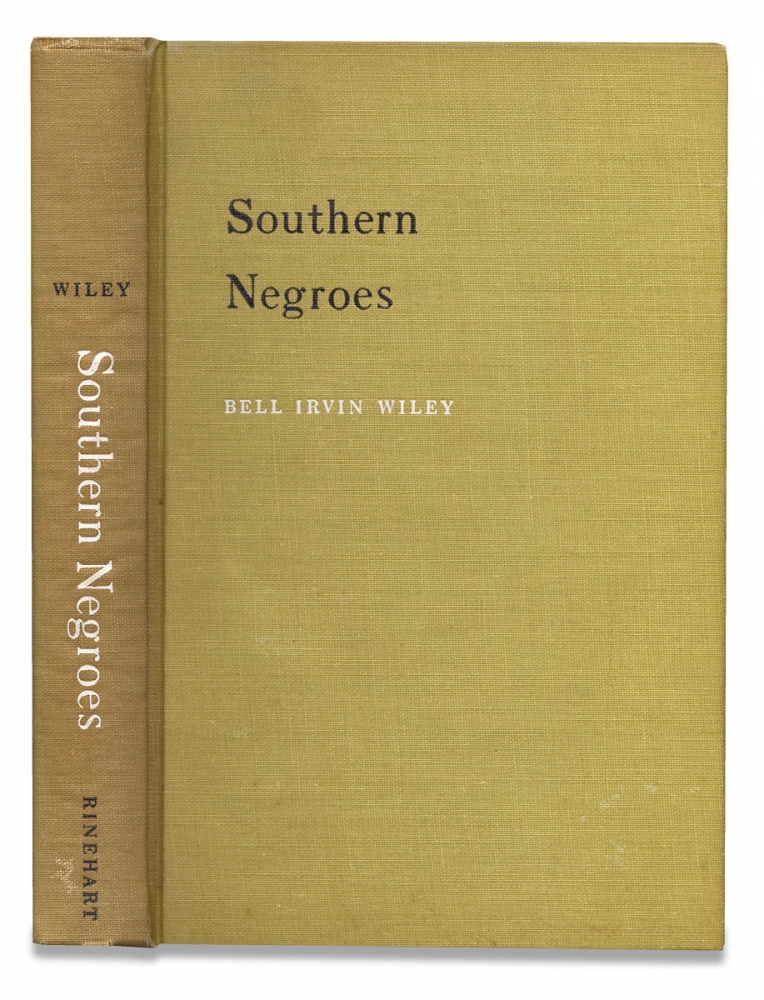 Southern Negroes, 1861-1865. Bell Irvin Wiley.