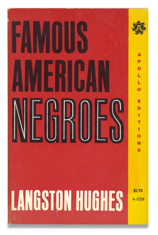 Famous American Negroes. Langston Hughes.