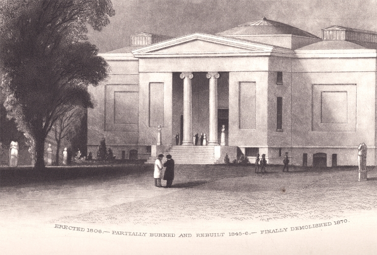 [Architecture; John Sartain:] The First American Art Academy. Reprinted from Lippincott's Magazine. Ukwn., The Pennsylvania Academy of Fine Arts.