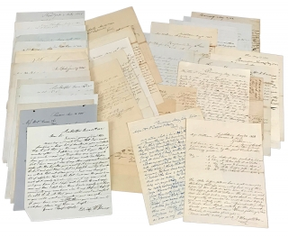 1837–1845 Manuscript Correspondence of William P. Cresson Company of Philadelphia. W P....
