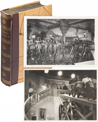 German 1930s Photo Album documenting, in part, Film Production of Director Richard Eichberg's...