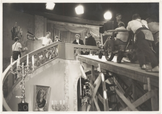 German 1930s Photo Album documenting, in part, Film Production of Director Richard Eichberg's 1937 drama Das Indische Grabmal (The Indian Tomb).