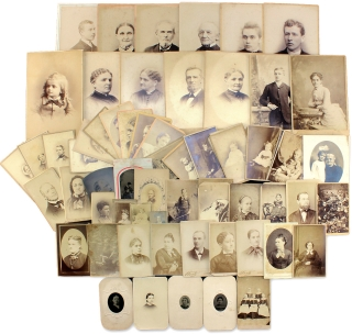 [Photograph Collection Connecting the Native American Family of Jane Ross Nave, Eldest Daughter of Chief John Ross, Cherokee Nation, and the Moravian Schneller Family of Bethlehem, Pennsylvania].