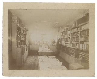 C.1900s Three Original Photographs of Interior of New York Scientific and Engineering Publisher...