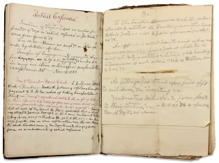 The Army Paymaster's Manual [Charles Colné's Copy with his Numerous Manuscript Emendations].