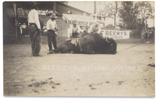 [Twelve Beery Western Show Exhibition Real Photo Post Cards].