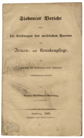 Women's Association for the Poor and the Sick] Siebenter Bericht über die Leistungen des...