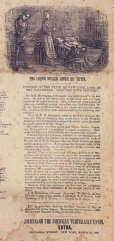 No License. A Question to be Settled in the State of New York, 19th of May, 1846…