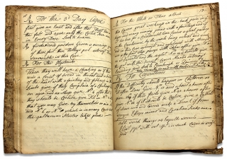 18th Century Hudson Valley, New York Medical Formulary Manuscript Notebook Kept by Dr. James Osborn. Dr. James Osborn, Dr. Cornelius Osborn, 1722–1782.