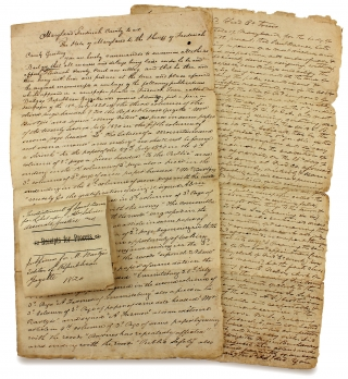 [C.1821 Indictment for Libeling a Maryland Judge and a related Subpoena issued to a Maryland Newspaper Editor].
