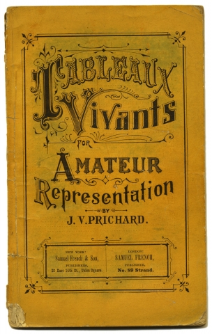 "[""Am I not a Man and a Brother?"" within:] Tableaux Vivants for Amateur Representation. J. V. Pritchard."