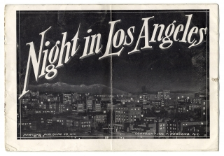 Night in Los Angeles [Promotional Advertorial]. Newcomb Publishing Co.