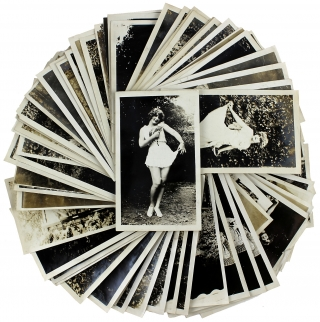 [Archive of Photographs of the Todd Sisters, 1930s-era Show Girls.]. The Todd Sisters.