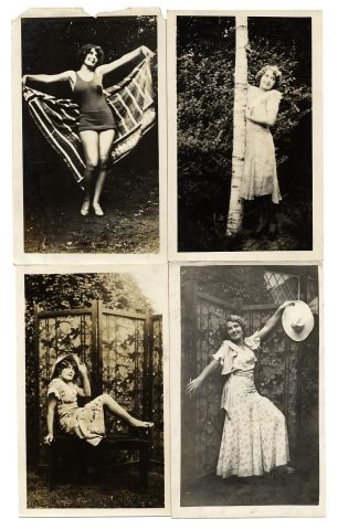 [Archive of Photographs of the Todd Sisters, 1930s-era Show Girls.]