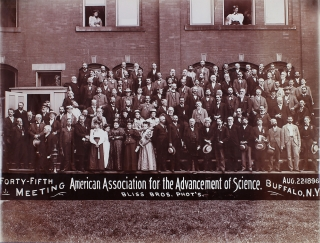Forty-Fifth Meeting Aug. 22 1896. American Association for the Advancement of Science. Photographers Bliss Bros.