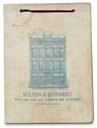 Colorado:] The Homes of Our Favorite Poets. Wilson, Barnard