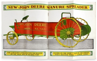New John Deere Spreader. [1929 Trade Catalog]. John Deere