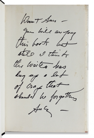 [Andrew Wyeth Inscribed and Signed within:] Doug & Mary. A Biography of Douglas Fairbanks and Mary Pickford.