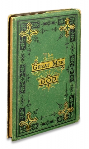 Great Men of God. Biographies of Patriarchs, Prophets, Kings and Apostles… [Salesman's Sample Book].