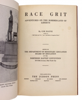 Race Grit. Adventures on the Border-Land of Liberty.