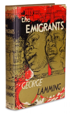 The Emigrants [Advance Reading Copy for Ralph Ellison]. George Lamming.