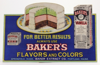 For Better Results Always Use Baker's Flavors and Colors. Baker Extract Company.