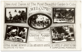 Dine and Dance at the Most Beautiful Garden in Cuba. ¡Welcome! Chateau Madrid. Habana Cuba....