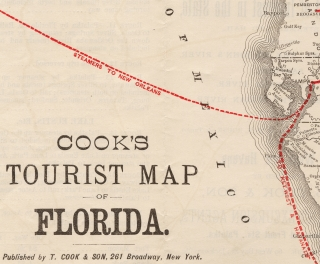 Cook's Tours in Florida. [With Map]