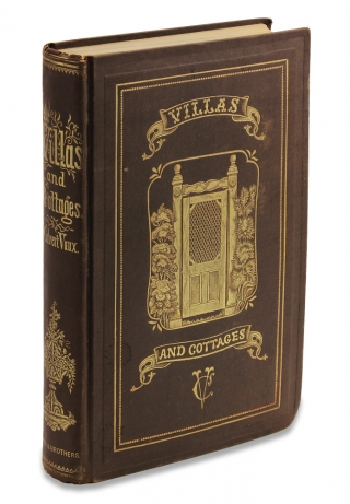 Villas and Cottages. A Series Of Designs Prepared For Execution in the United States. Calvert Vaux.