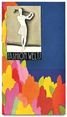 Fashion Welts [cover title for Raymond Loewy designed Saks-Fifth Avenue trade booklet]. Saks-Fifth Avenue.