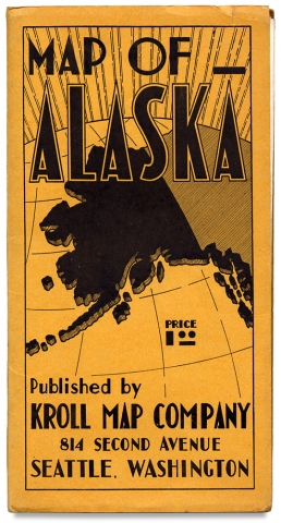 Map of Alaska…Compiled from the latest surveys of the U.S. Geological Survey, Alaska Road...