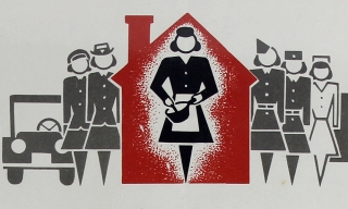 Women at War:] Homemaker's War Guide ... Victory Begins At Home. Do Your Part. Office of War...