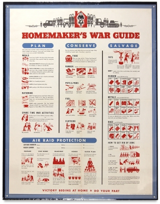 [Women at War:] Homemaker's War Guide ... Victory Begins At Home. Do Your Part.
