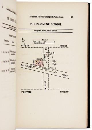 The Public School Buildings of the City of Philadelphia from 1745 to 1845. B. S. Franklin...
