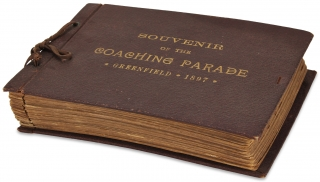 [Massachusetts Photography:] Souvenir of the Coaching Parade, Greenfield 1897.