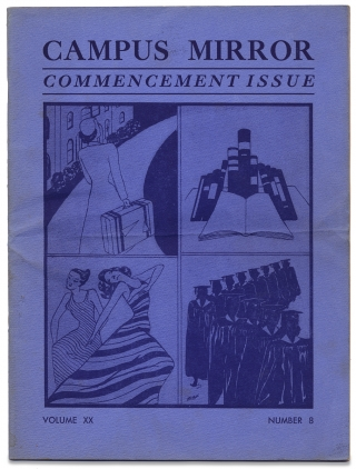 [Spelman College:] Campus Mirror. Commencement Issue. Volume XX. 1944 Number 8. Nina Charlton, -in-Chief.